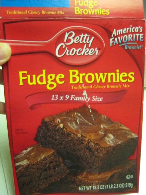 Nutella Swirled Brownies   Fudge Brownie Mix