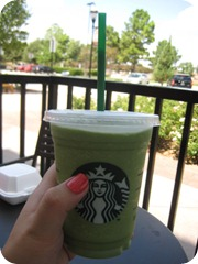 Starbucks Green Tea Frappucino