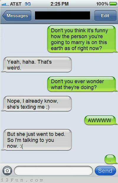 Flirting Fail