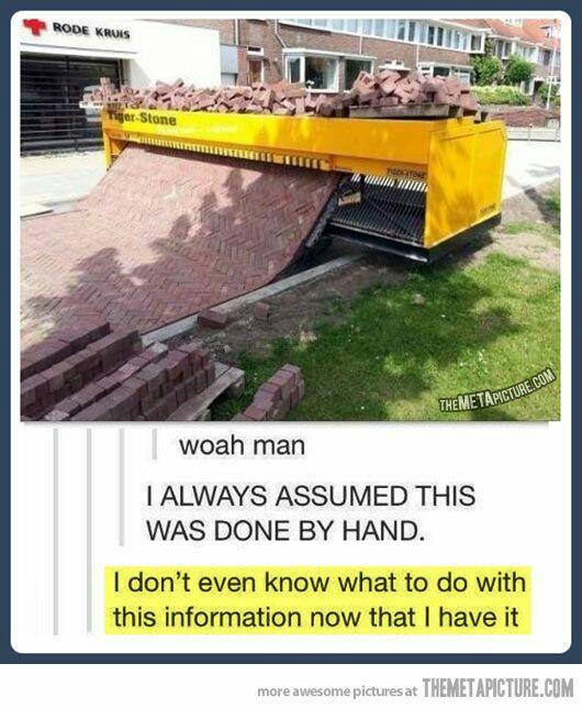 Machine Building Roads