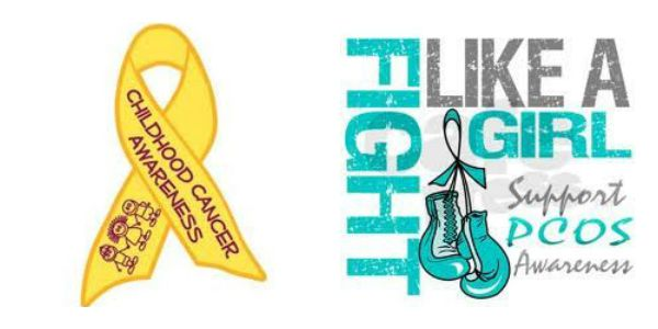 September is Childhood Cancer Awareness and PCOS Awareness Months