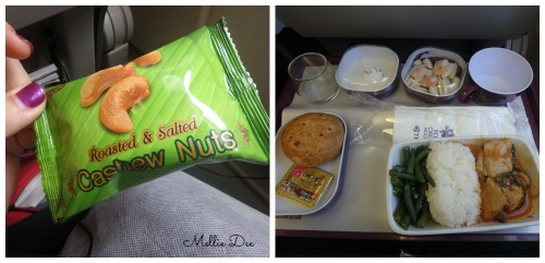 Thai Airlines Meals