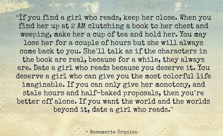 Date a Girl Who Reads - Rosemarie Urquico