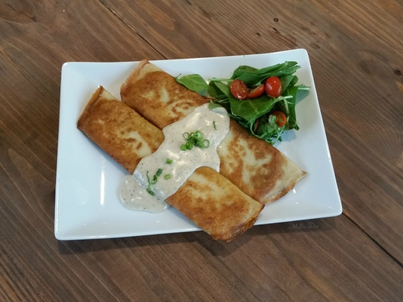 Cocohodo | Katy, Texas | Veggie Chicken Savory Crepe