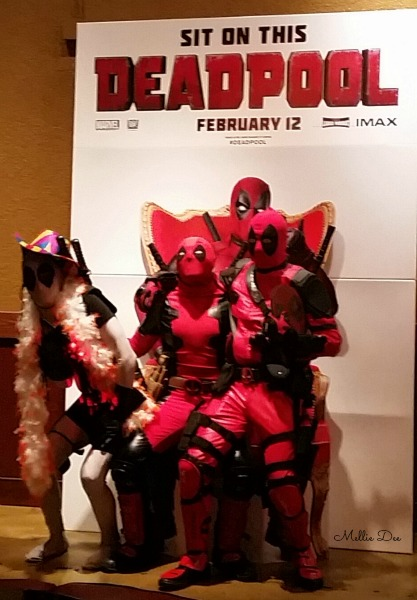 Deadpool Movie Opening Cosplay