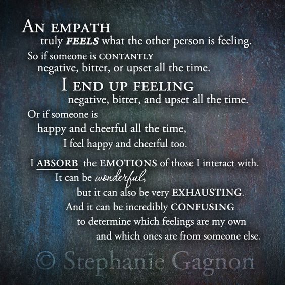 Empathy Feeling Everything Quote