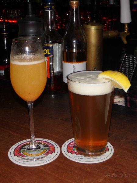 Queen City Grill | Seattle, Washington | Beer and Bellini