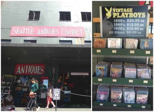 Seattle Antiques Market | Seattle, Washington | Vintage Playboys
