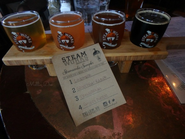 Steamworks Brewing Company | Vancouver, Canada | Beer Flight