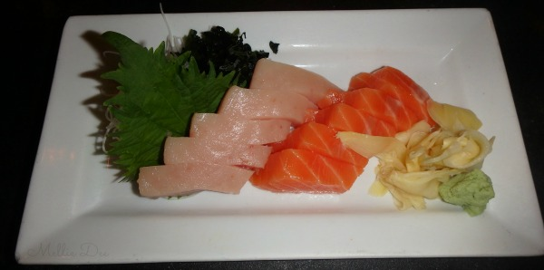 Umi Sake House | Seattle, Washington | Albacore Sashimi & Salmon Sashimi