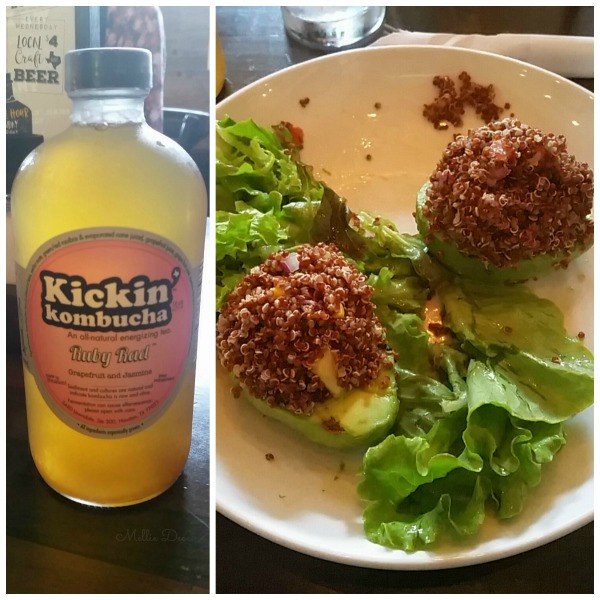 Dish Society | Katy, Texas | Kickin' Kombucha Grapefruit & Quinoa Stuffed Avocado