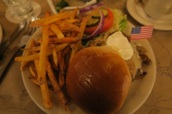 Ted's Montana Grill | Colorado Springs, Colorado | Swiss Mushroom Bison Burger