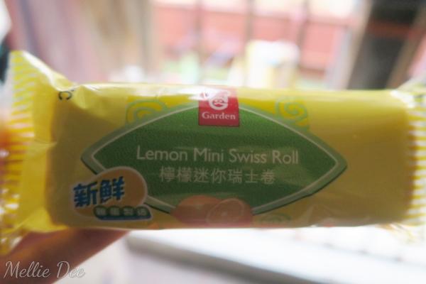 Garden Lemon Mini Swiss Roll