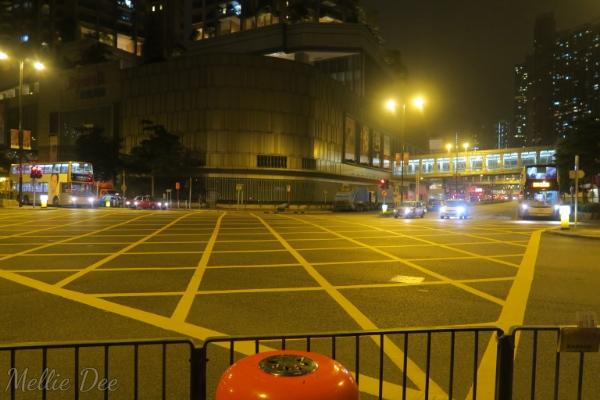Hong Kong Streets Night