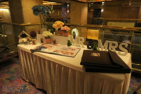 Vincent & Rachel Wedding | Front Desk