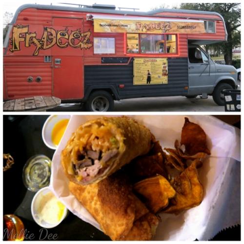 FryDeez Food Truck | Austin, Texas | Kardiac Arrest Eggroll
