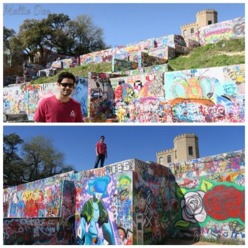 Hope Outdoor Gallery | Austin, Texas | Scruffy at Graffiti Wall