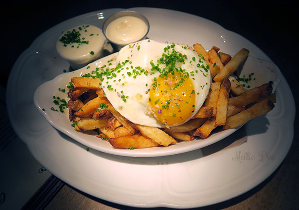 Au Cheval | Chicago, Illinois | Crispy Fries with Egg