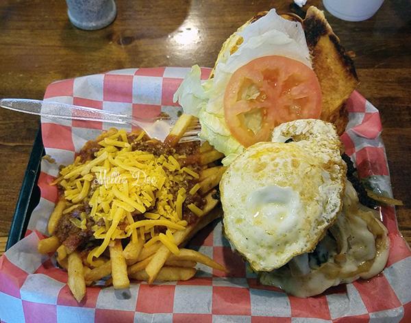 Ramble Creek Grill   Richmond, Texas   The Rambler Burger