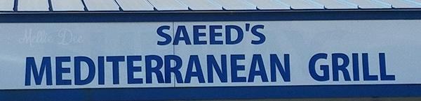Saeed's Mediterranean Grill   Houston, Texas