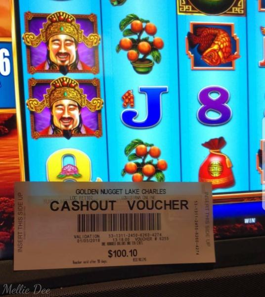 2018   005/365   Golden Nugget Casino   Lake Charles, Louisiana   Slot Winner