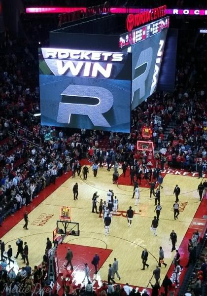 2018 | 022/365 | Rockets vs Heat Rockets Win!