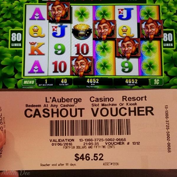 L'Auberge Casino | Lake Charles, Louisiana | Slot Winner