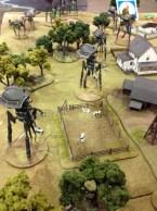 Mar attacks demo table - tripods