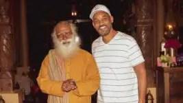 Will Smith meets with Indian spiritual leader Sadhguru