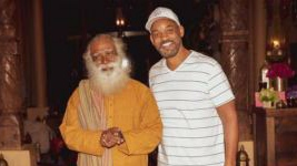 Will Smith meets with Indian spiritual leader Sadhguru