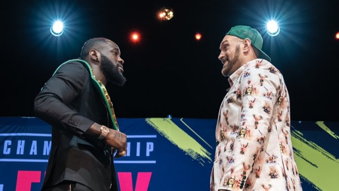 Deontay Wilder Vs Tyson Fury 3 – be a man and fight me instead of Carlos Takam