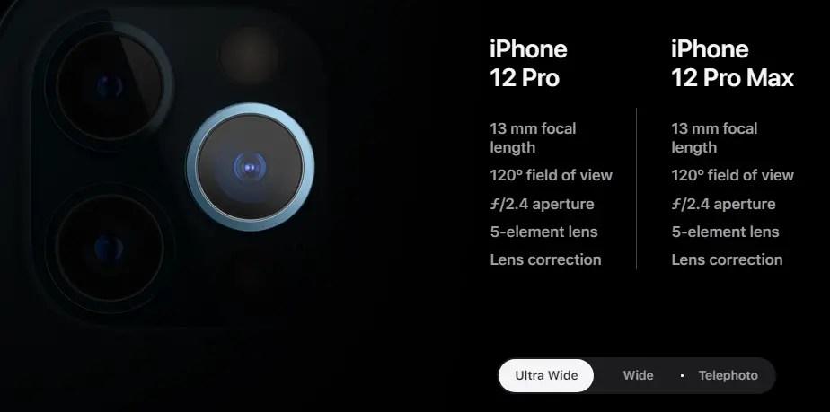iphone 12 spec