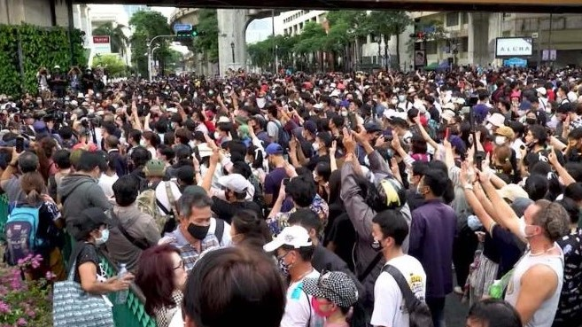 thailand protesters