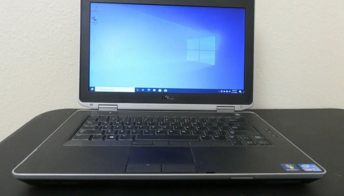 Dell Latitude E6430 Laptop PC Core i5-3380M 2.9GHz 8GB RAM 500GB HDD Win 10 Pro