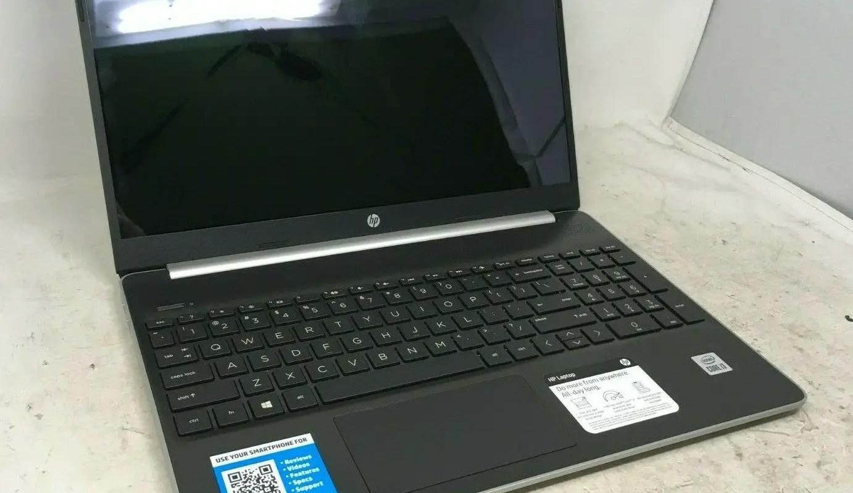 HP Touchscreen Laptop - Intel Core i3-10th Gen 8GB RAM 256GB SSD - BROKEN SCREEN