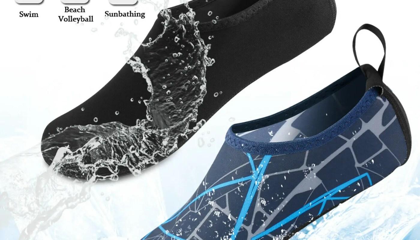 Men Women Water Shoes Barefoot Quick-Dry Beach Yoga Swim Sports Exercise Socks