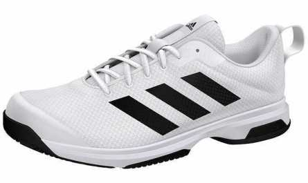 New Adidas Mens Running Shoes White Black Men's Athletic Sneaker -FAST FREE SHIP