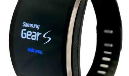 Samsung Galaxy Gear S SM-R750V Curved Super AMOLED Smart Watch  - Black