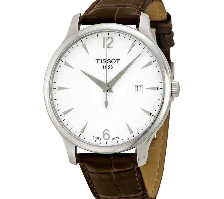 Tissot T Classic Tradition Silver Dial Men's Watch T0636101603700