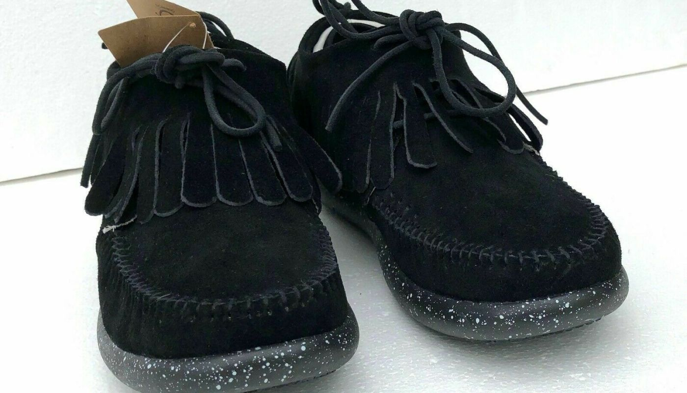 boots SIZE 8 original Taupe BLACK Hemera Skirt Modern Moccasin/Sneakers retro