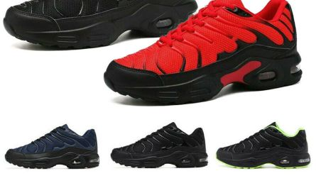 Men's Air Cushion Running Shoes Non-slip Outdoor Sports Casual Athletic Sneakers