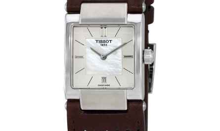Tissot T02 MOP Dial Ladies Watch T090.310.16.111.00