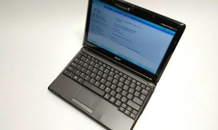 Acer Aspire One ZG8, Intel Atom N270 1.6GHz, 1GB RAM, 160GB HDD, Windows 7