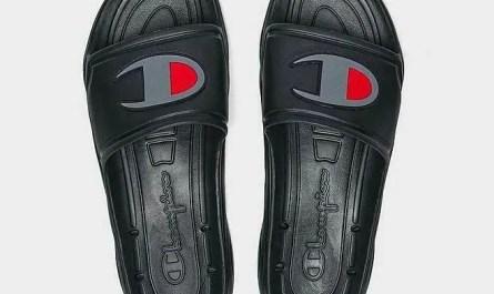 Champion Men's Hydro-C Slide Sandals - Black