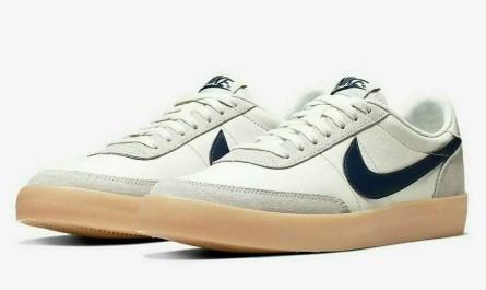 Nike Killshot 2 Leather Shoes Sail Midnight Navy 432997-107 Men's NEW