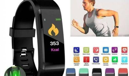 Waterproof Fitness Activity Tracker Smart Watch for Women Men Kids Android & iOS