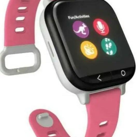 Gizmowatch Gizmo Watch Smartwatch Verizon Wireless – Black With Pink Band