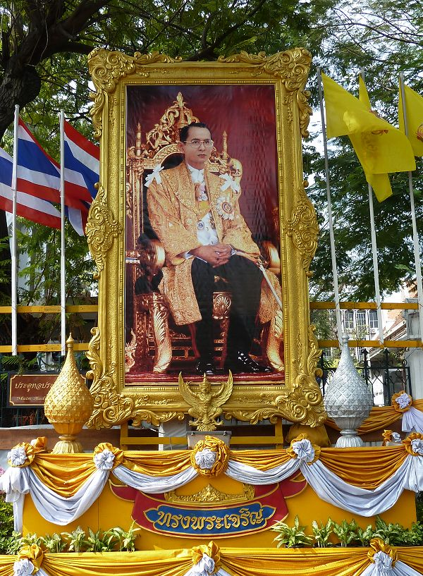 In Thailand , the King is a God
