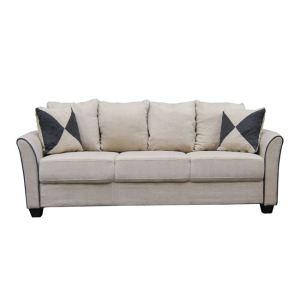 ASHLEY καναπές 3θέσιος Ύφασμα Μπεζ
