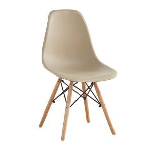 ART Wood καρέκλα Ξύλο/PP Tortora